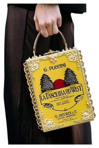 Dolce&Gabbana Couture Alta Moda Limited Edition Tote in Yellow & black