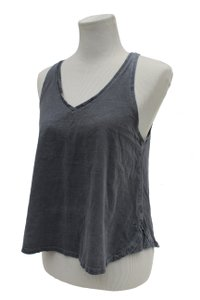 Rag & Bone V-neck Racerback Swing Small Top Grey