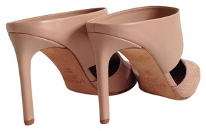 Vince Corrine Point Toe Nude Mules