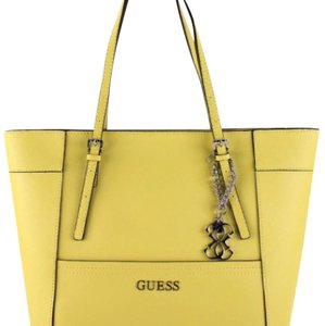 Guess Tote in Lemon Yellow