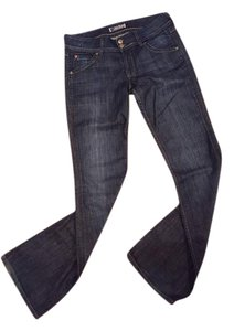 Hudson Jeans No Visible Wear Boot Cut Jeans-Dark Rinse