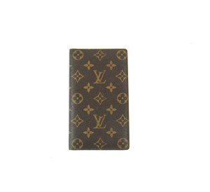 Louis Vuitton Rare Monogram Canvas Leather Oversized Long Wallet