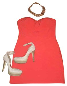 Gianni Bini short dress rio red on Tradesy