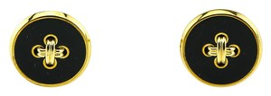 Alfred Dunhill Dunhill Button and Thread Gold Tone Cufflinks