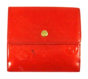 Louis Vuitton Monogram Vernis Patent Leather Porte-Monnaie Cartes Trifold Wallet