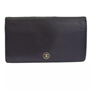 Chanel Lambskin Double Wallet