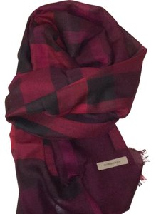Burberry gauze giant exploded check scarf