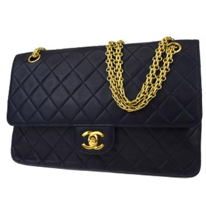 Chanel Vintage Quilted Leather Lambskin Luxury Shoulder Bag