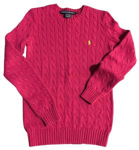 Ralph Lauren Cable Polo Sweater