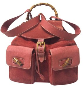 Gucci Bamboo Gg Tote Gg Satchel. Diamante Backpack