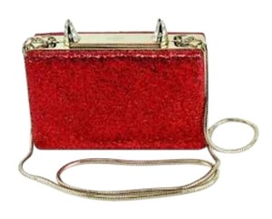 Kate Spade Horns Red Clutch