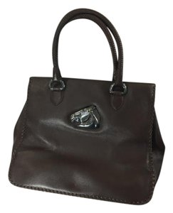 Barry Kieselstein-Cord Vintage Leather Handbag Horse Tote in Brown