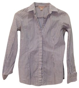 Brooks Brothers Button Down Shirt Blue, White