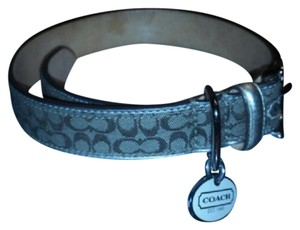 Coach coach large dog collar