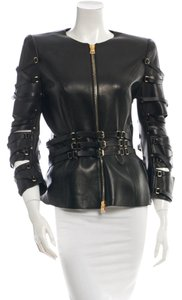 Tom Ford Leather Editorial Leather Jacket