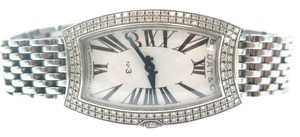 Bedat & Co Stainless Steel Bedat Diamond Bezel Watch No 3 Retail $9,000
