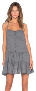 Current/Elliott short dress castle Cotton Tiered Ruffle Racer Back Strappy on Tradesy
