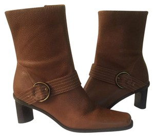 Etienne Aigner Honey Brown Boots