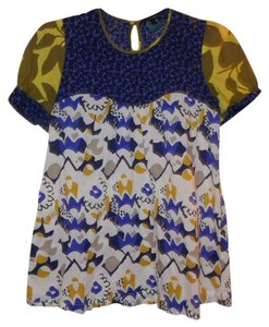 French Connection Print Floral Mixed Print Tunic