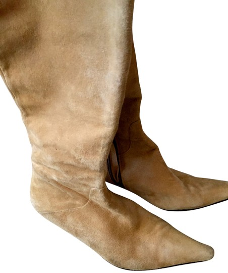 Basic from LONDON High Light Tan Suede Boots
