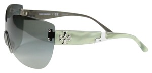 Tory Burch Tory Burch Wrap-around Rimless Sunglasses