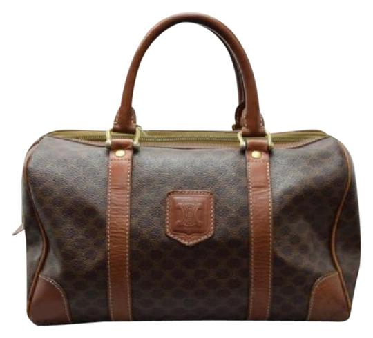 Preload https://img-static.tradesy.com/item/20975349/celine-macadam-hand-brown-leather-pvc-satchel-0-1-540-540.jpg