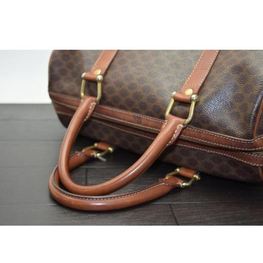 Céline Satchel in Brown Image 5