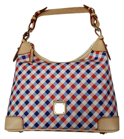 Preload https://img-static.tradesy.com/item/20975363/dooney-and-bourke-hobo-elise-collection-plaid-red-pink-and-blue-vaccheta-leather-hobo-bag-0-1-540-540.jpg