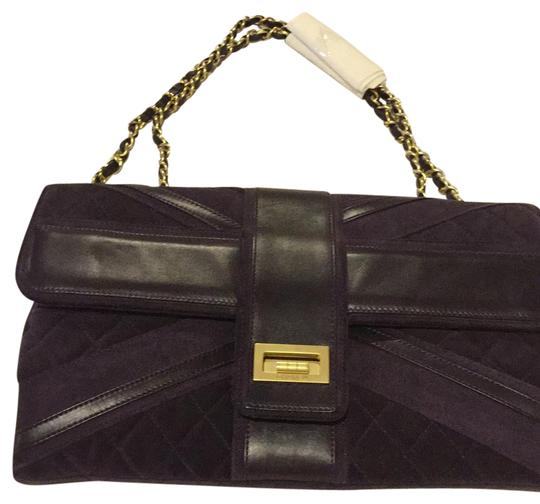 Preload https://img-static.tradesy.com/item/20975446/chanel-dark-purple-suede-and-leather-shoulder-bag-0-1-540-540.jpg