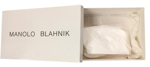 Manolo Blahnik Shoes box & Dust bag tissue included.
