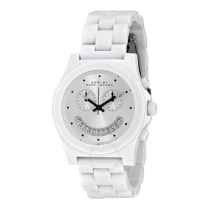 Marc Jacobs Marc Jacobs Women's Raver White Chronograph Watch MBM4573