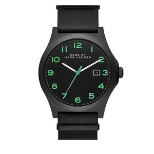Marc Jacobs Marc Jacobs men's Jimmy Black Leather Watch MBM5062