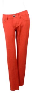 Express Stretch Skinny Pants red