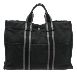 Hermès Tote in Black /Gray