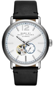 Marc Jacobs Marc Jacobs Women's Fergus Automatic Black Leather Watch MBM9716