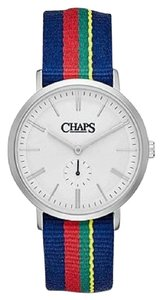 Chaps Chaps Women's Dunham Striped Canvas Two-Hand Watch CHP5001