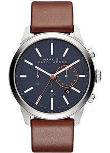 Marc Jacobs Marc Jacobs Women's Dillon Chronograph Leather and Silicone Wa MBM5094