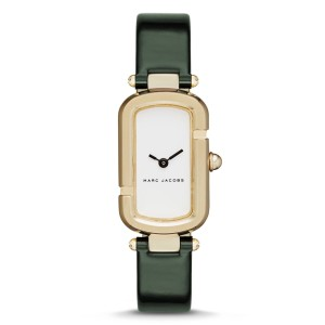 Marc Jacobs Marc Jacobs Women'sMonogram Green Patent Leather and Gold-Tone MJ1485