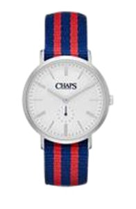 Chaps Chaps Women's Dunham Striped Canvas Two-Hand Watch CHP5002