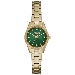 Chaps Chaps Women's Neely Gold-Tone Three-Hand Watch CHP3038