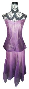 Purple Ombre Maxi Dress by Laundry by Shelli Segal Ombre Cami Top Ombre Skirt Ombre Shirt