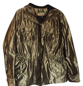 Ralph Lauren Metallic bronze with black lining in the hood for a stunning contrast Jacket