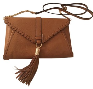 MILLY Leather Spring Tassels Cross Body Bag