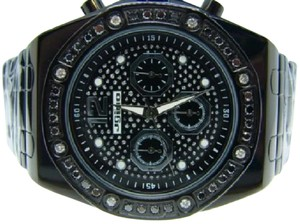 JoJino MENS JOJO/JOJINO/JOE RODEO BLACK DIAMOND WATCH 1.75 CT