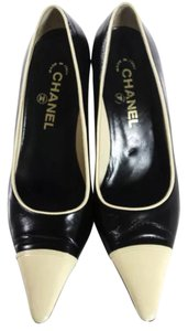 Chanel Black & Cream Pumps