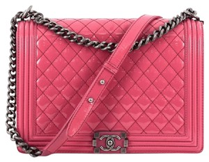 Chanel Patent Shoulder Bag