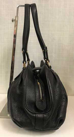 Louis Vuitton Leather Mahina Satchel in Chocolate Image 2