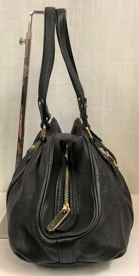 Louis Vuitton Leather Mahina Satchel in Chocolate Image 3