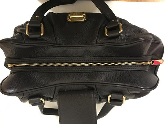 Louis Vuitton Leather Mahina Satchel in Chocolate Image 5