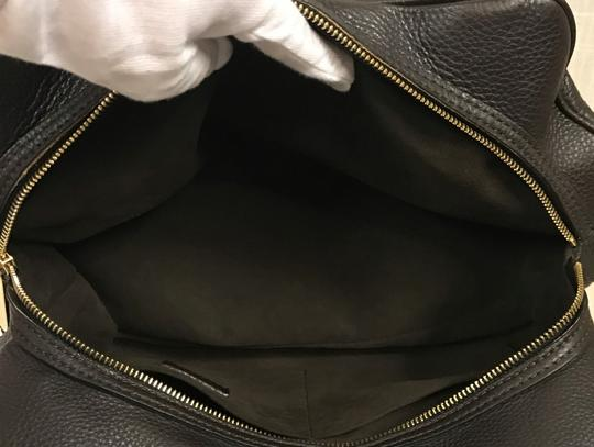 Louis Vuitton Leather Mahina Satchel in Chocolate Image 6